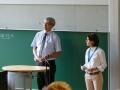 Begrüßung durch Frau Stiesch und Herrn Muschik (VDI, VDIni)egerl (Hochschule Augsburg, VDE))