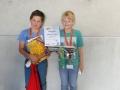 "Team ""rollender Tintenfisch"" (1. Platz Kreativklasse - Juniorklasse)"