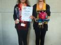 sunshine twins mit Prof. Bubblefisch (1. Platz Kreativklasse)