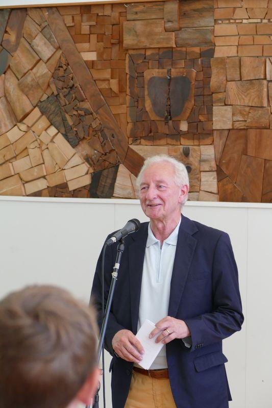 Schirmherr Hermann Köhler (Bildungsreferent der Stadt Augsburg))